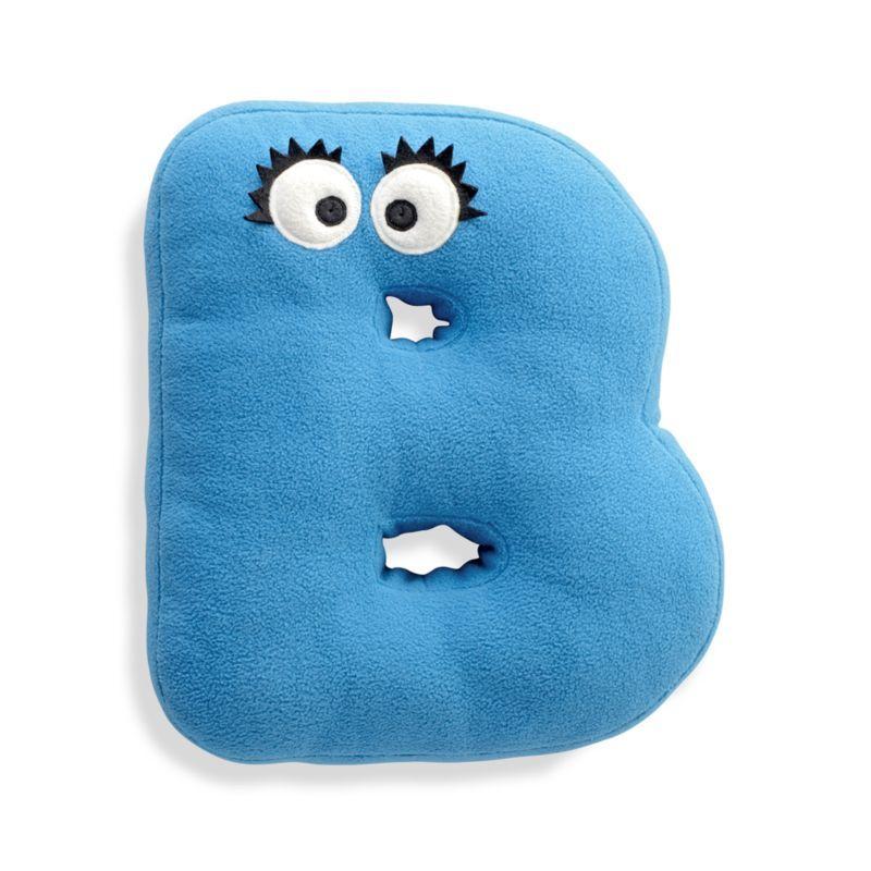 Sesame Street Letter B Throw Pillow