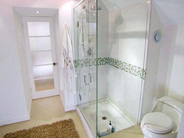 Small Bathroom With Walk In Shower small bathroom designs with walk in shower like the idea of the