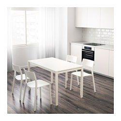 MELLTORP Table - white   Ideas decoración sala comedor ...