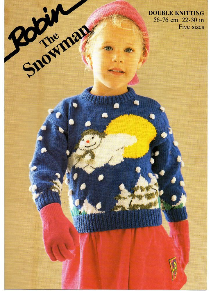 Vintage Christmas Jumper Knitting Pattern : the snowman jumper Christmas vintage knitting pattern 99p truien Pinteres...