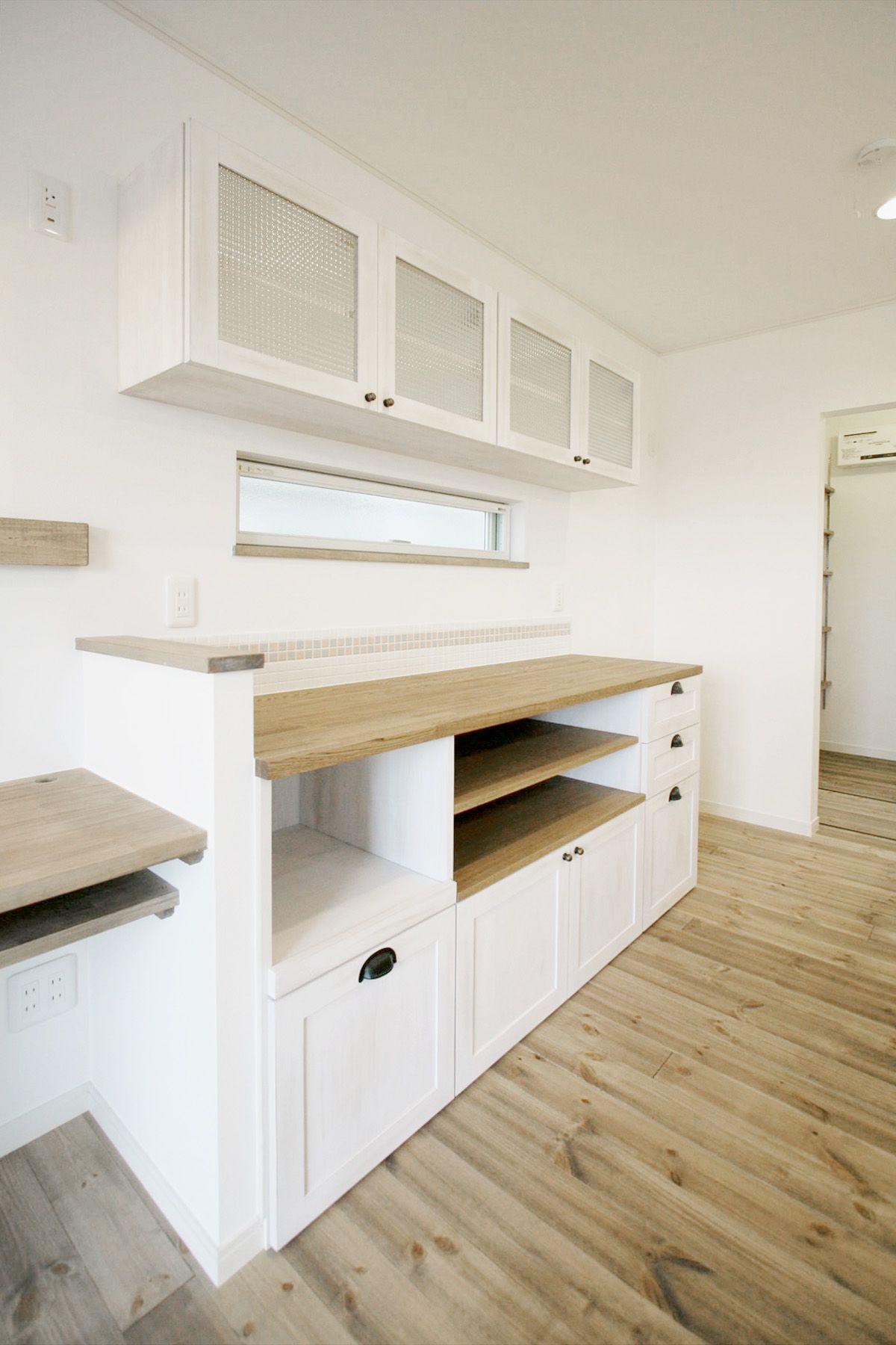 キッチン キッチン収納 バックキャビネット 造作収納 カフェ