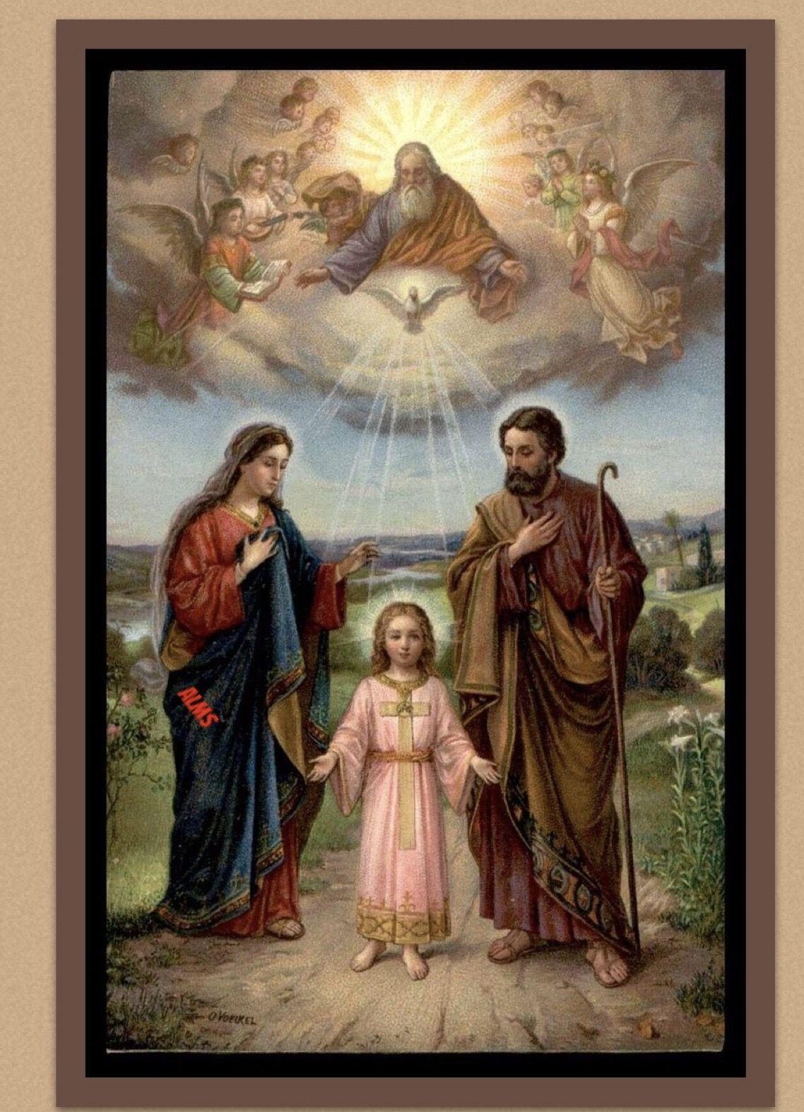 Sagrada Familia El Mismo Espíritu Santo Que La Animó También Anima A La Familia Imagen Sagrada Familia Sagrada Familia De Nazareth Sagrada Familia De Nazaret