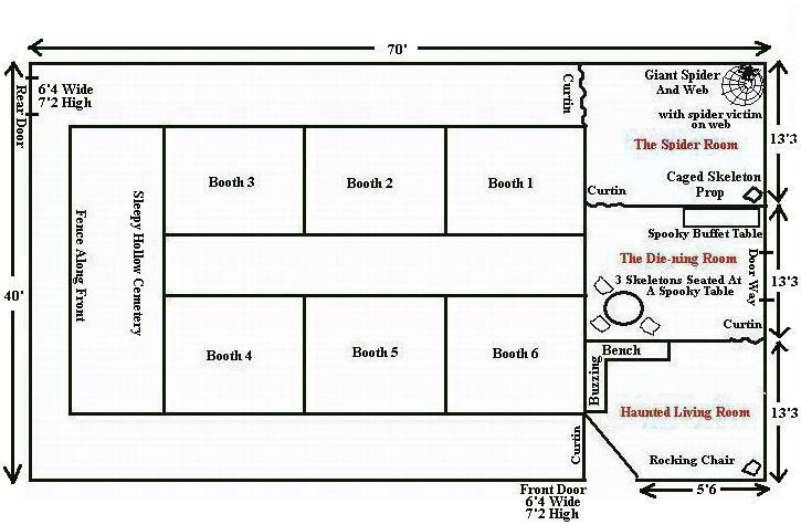 haunted house layout | haunt: design | pinterest | house layouts and