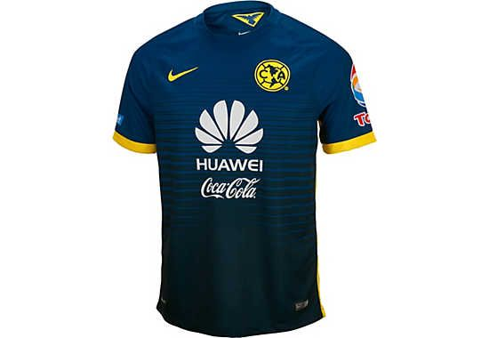 b24549d3fa7 Available at www.soccerpro.com. Nike Club America Away Jersey 2015-2016