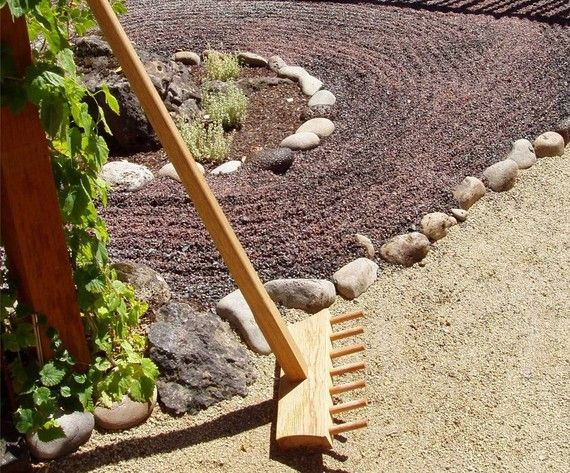 So Exciting This Is An Adult Size Japanese Zen Garden Rake