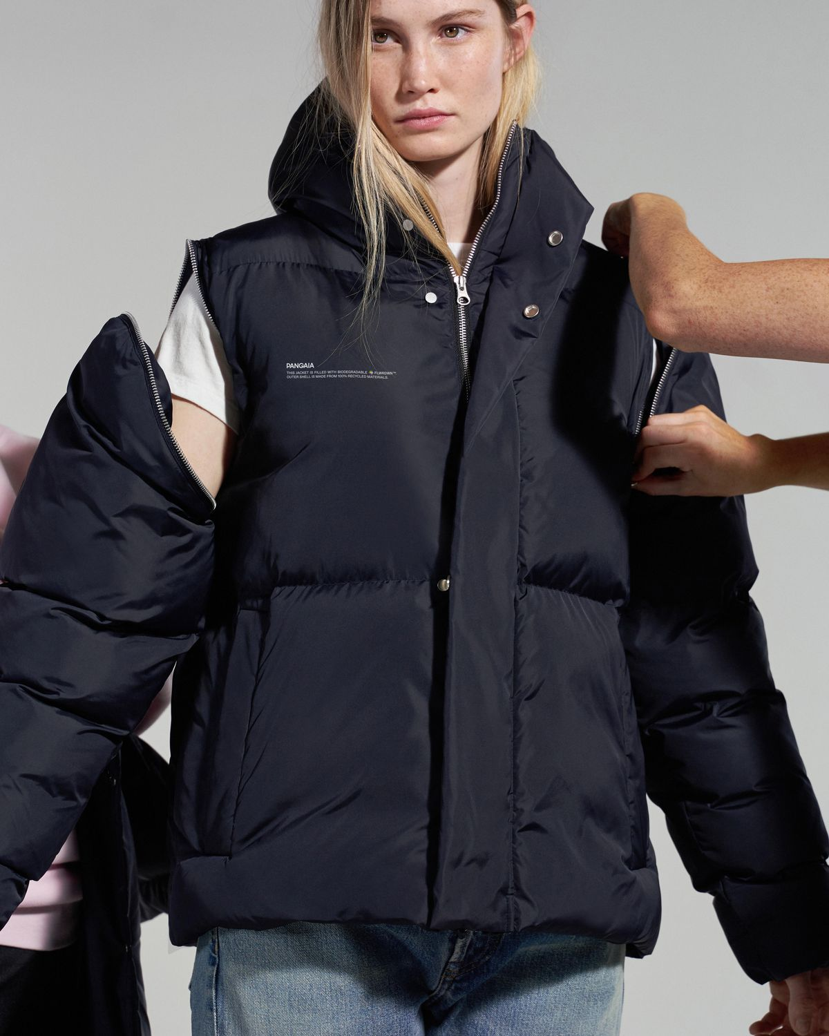 This Startup Is Reshaping What It Means To Be A Sustainable Fashion Brand From Materials Through To Products Puffer Coat Sustainable Fashion Brands Sustainable Fashion [ 1500 x 1200 Pixel ]