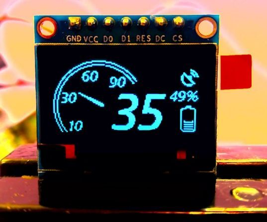Guide For I2c Oled Display With Arduino Random Nerd Tutorials In 2020 Arduino Arduino Display Arduino Projects