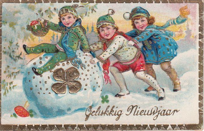 Kerst en Oud & Nieuw fantasiekaarten | Kinderkaartjes ...