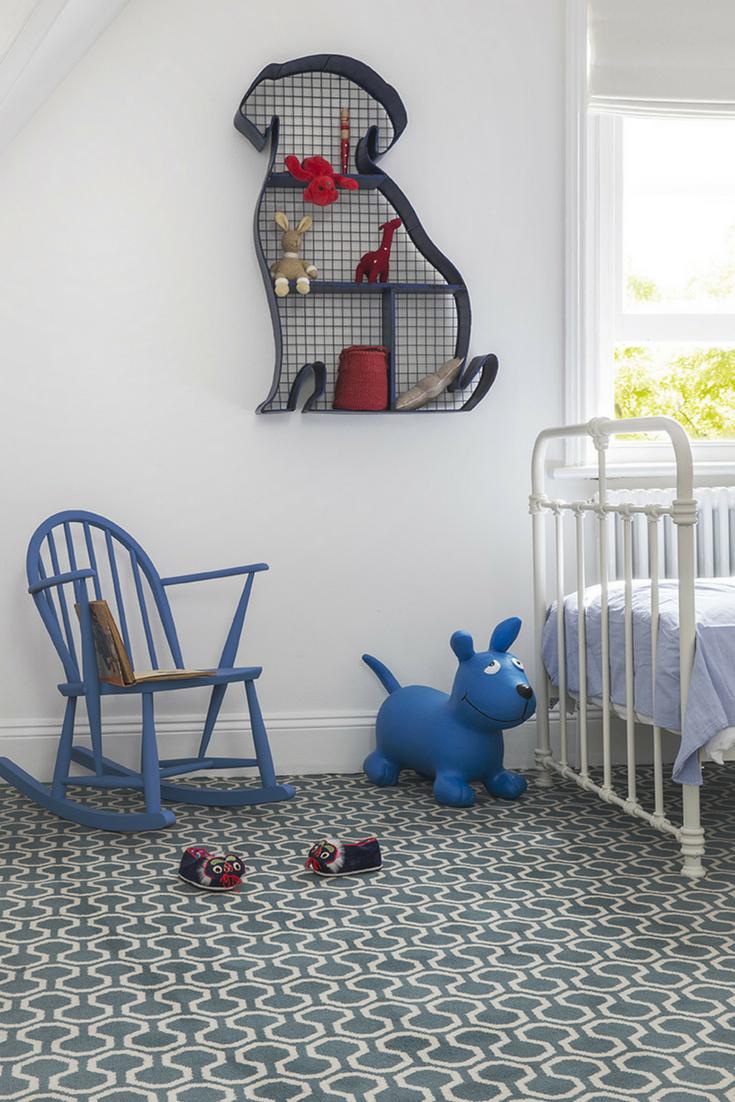 The stunning blue of Alternative Flooring's Quirky B