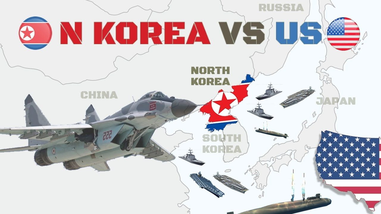 North Korea vs US Military Power Compare