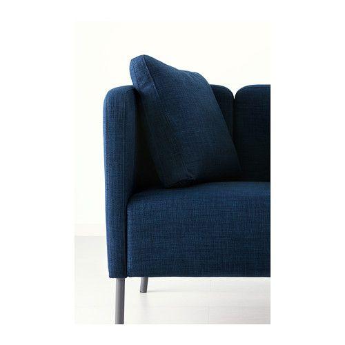 eker fauteuil skiftebo bleu fonc ikea - Fauteuil Ikea Bleu