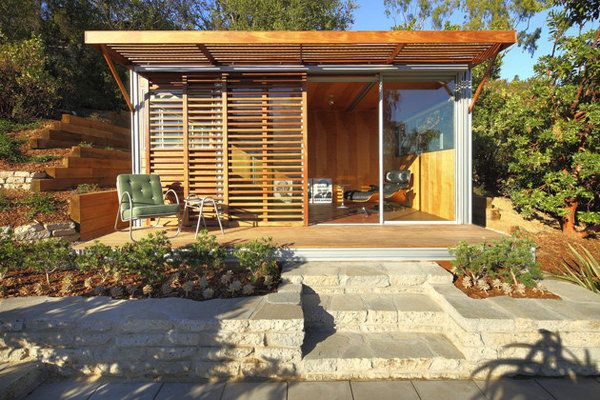 building simple small backyard studio small prefabs as backyard offices office spaces foundation and