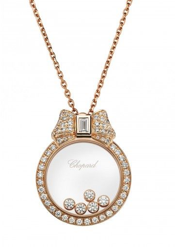 Happy diamonds icons pendant diamantes cosas bonitas y originales chopard happy diamonds icons pendant 18k rose gold and diamonds 795020 5301 aloadofball Gallery