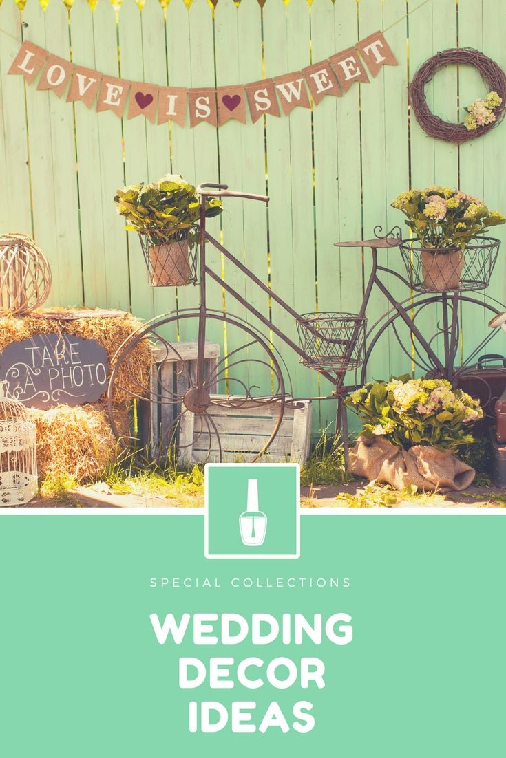 Unique wedding decoration ideas  Amazing Wedding Decor Ideas Collections  Perfect And Cheap Wedding