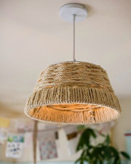 14 Diy Lamp Shades For Beautiful Homes With Images Diy Pendant