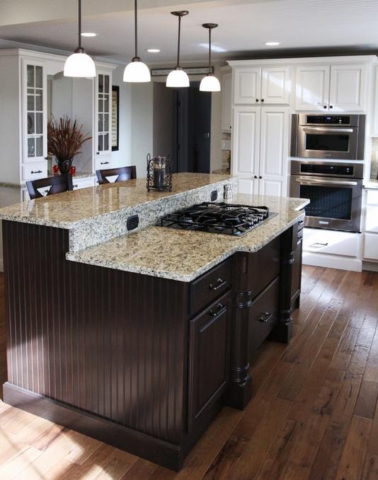 die härte des materials und edle anmutung machen küchenoberflächen