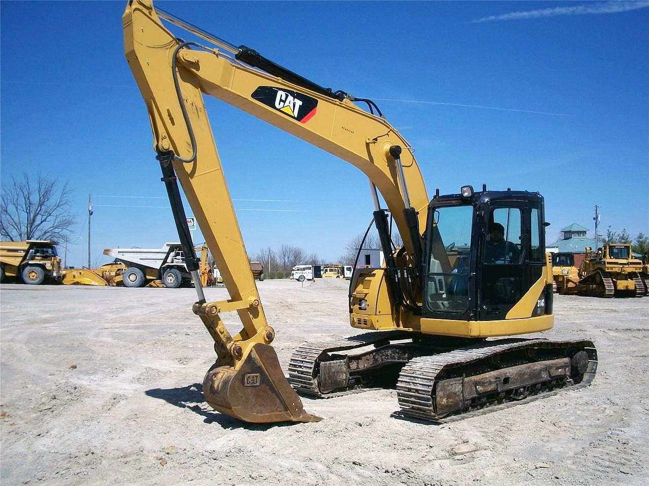 2008 caterpillar 314 cl cr