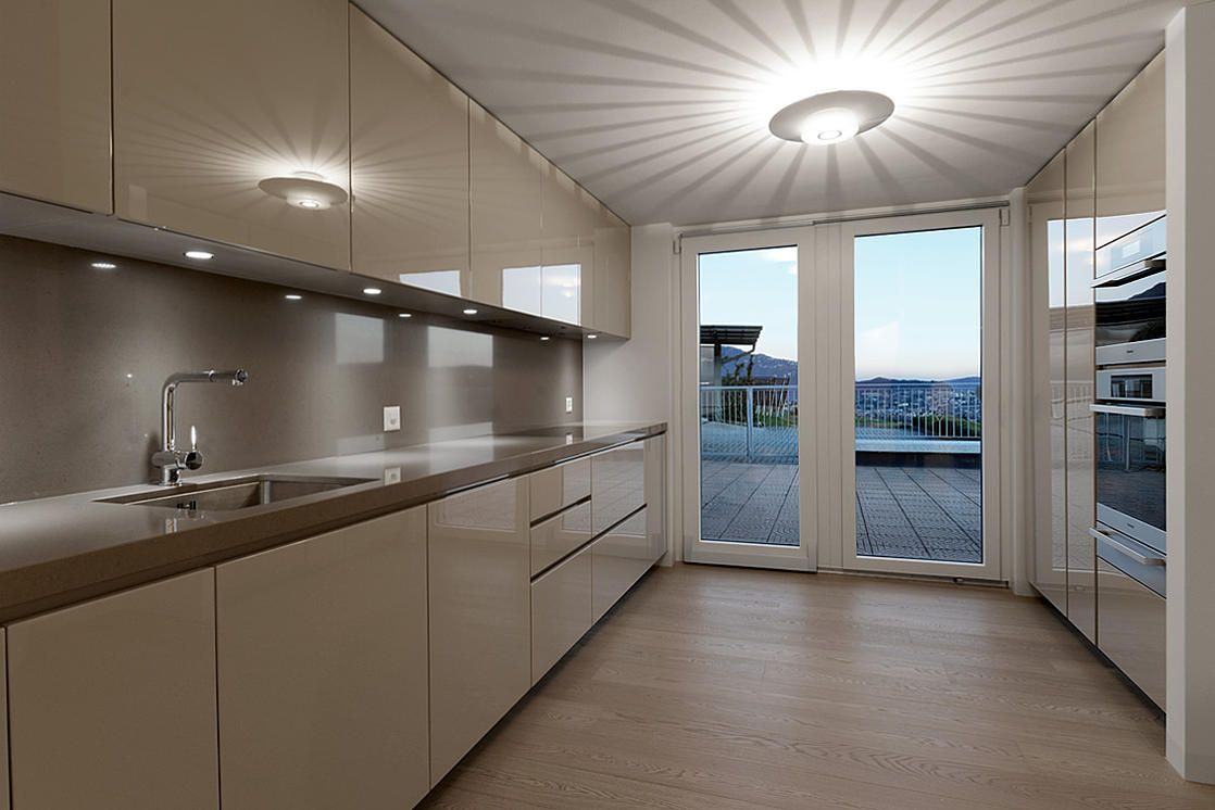 Progetto di ristrutturazione e arredamento progetto cucina soggiorno poliform armadi poliform - Progetto arredo cucina ...