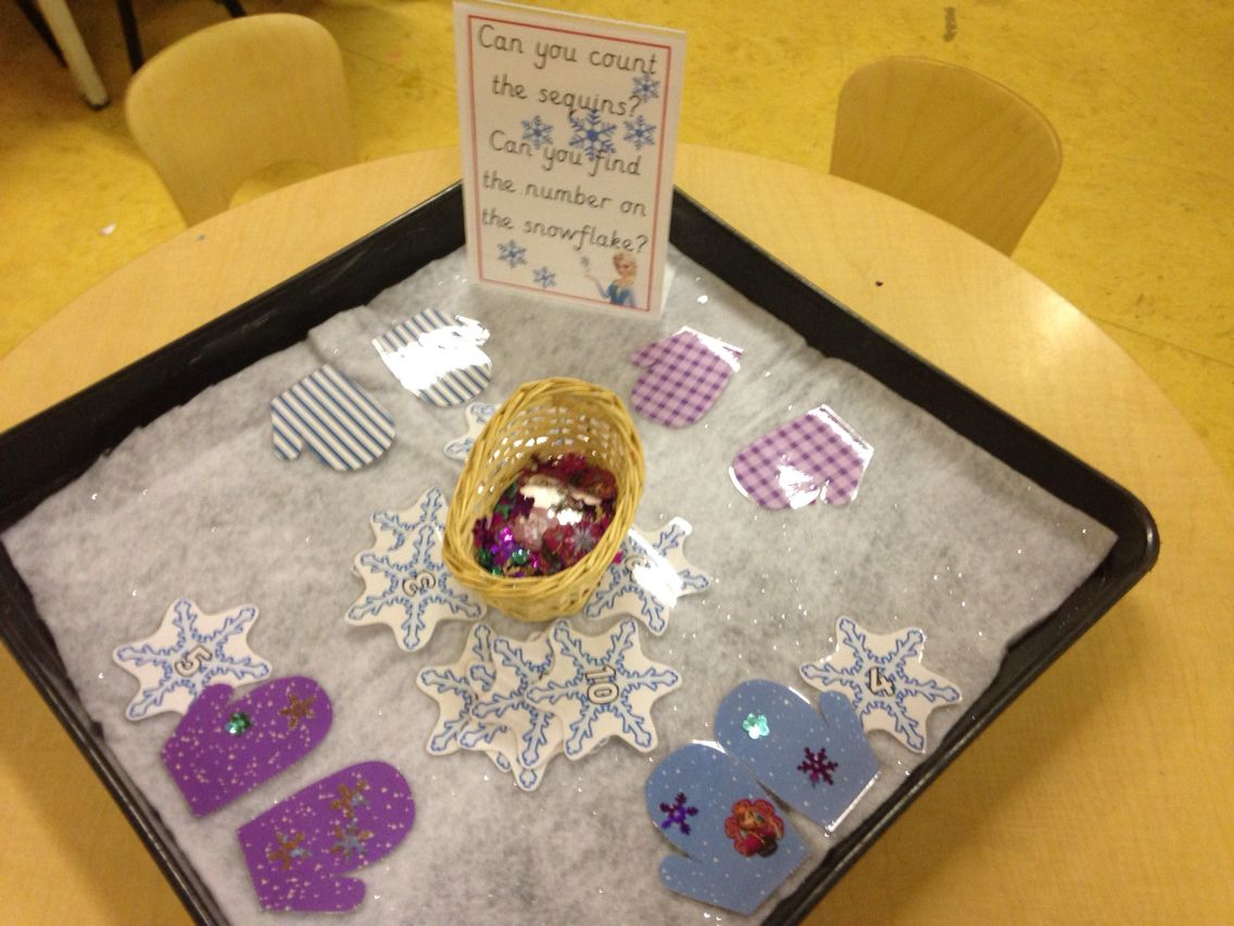 Frozen Maths Challenge Counting Sequins