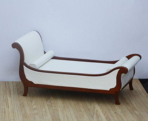 Amazon Dollhouse Miniature Art Deco Chaise Style Bed in Real