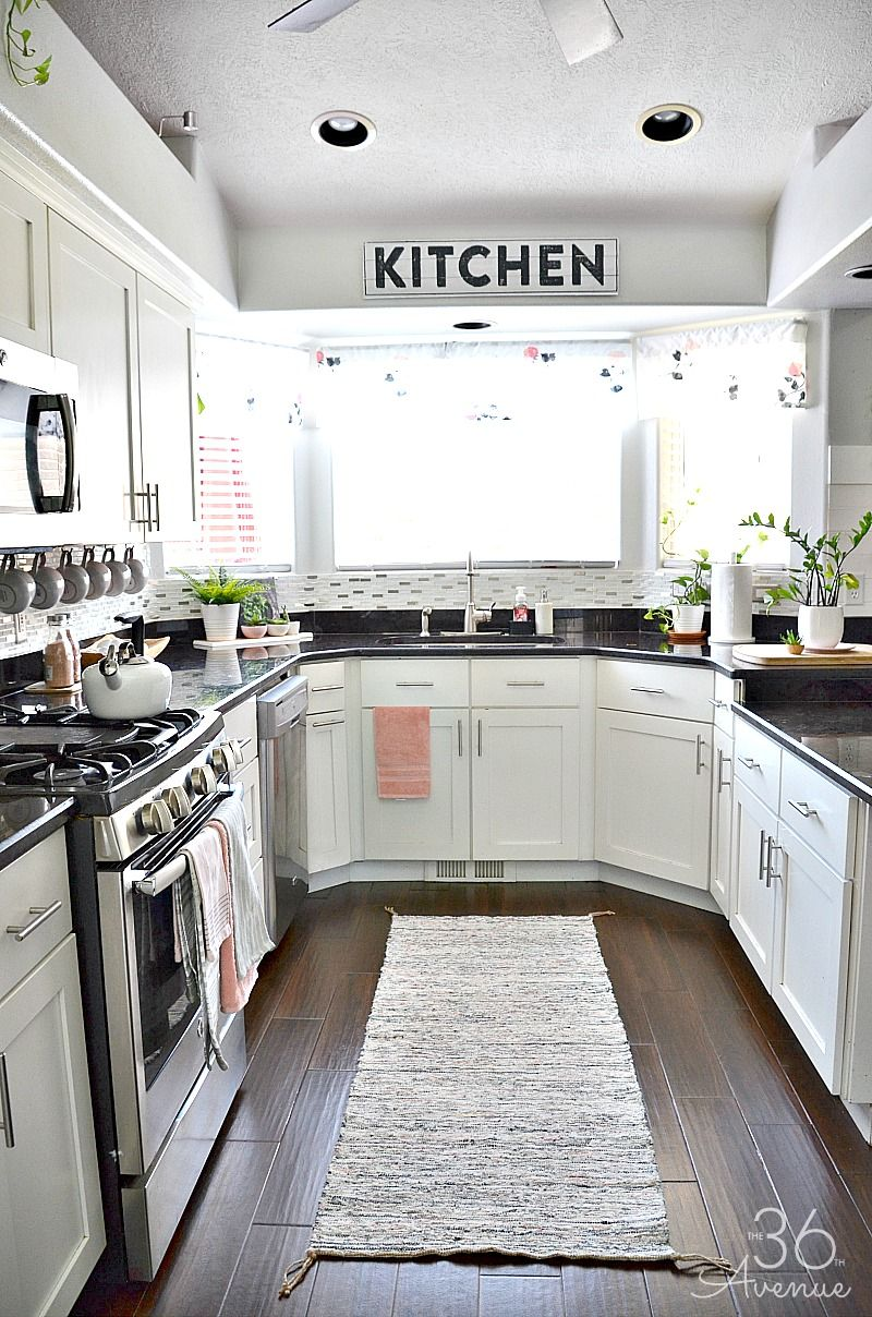 White Kitchen Decor Ideas How To Add Color A