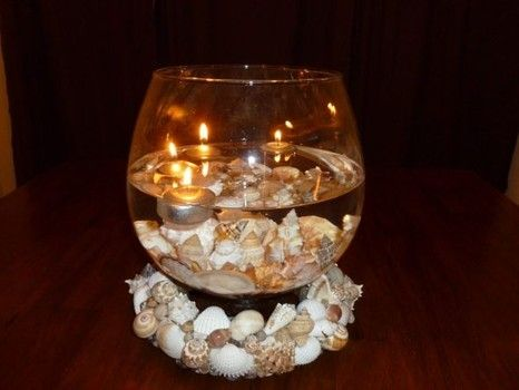 Cher Is Back On The Charts With Womans World Seashell CenterpiecesCandle Wedding