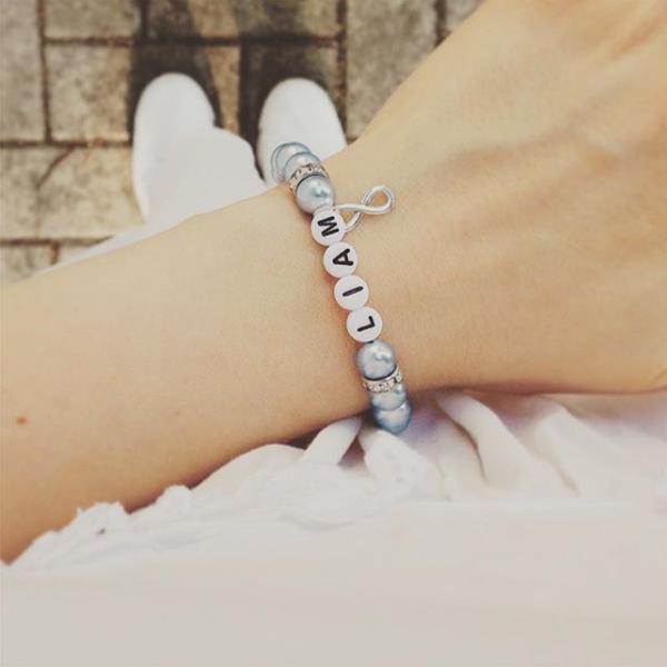 Armband mit Buchstaben Eulenarmband Eulen Geschenke Freundschaftsarmband Geschenk f/ür sie
