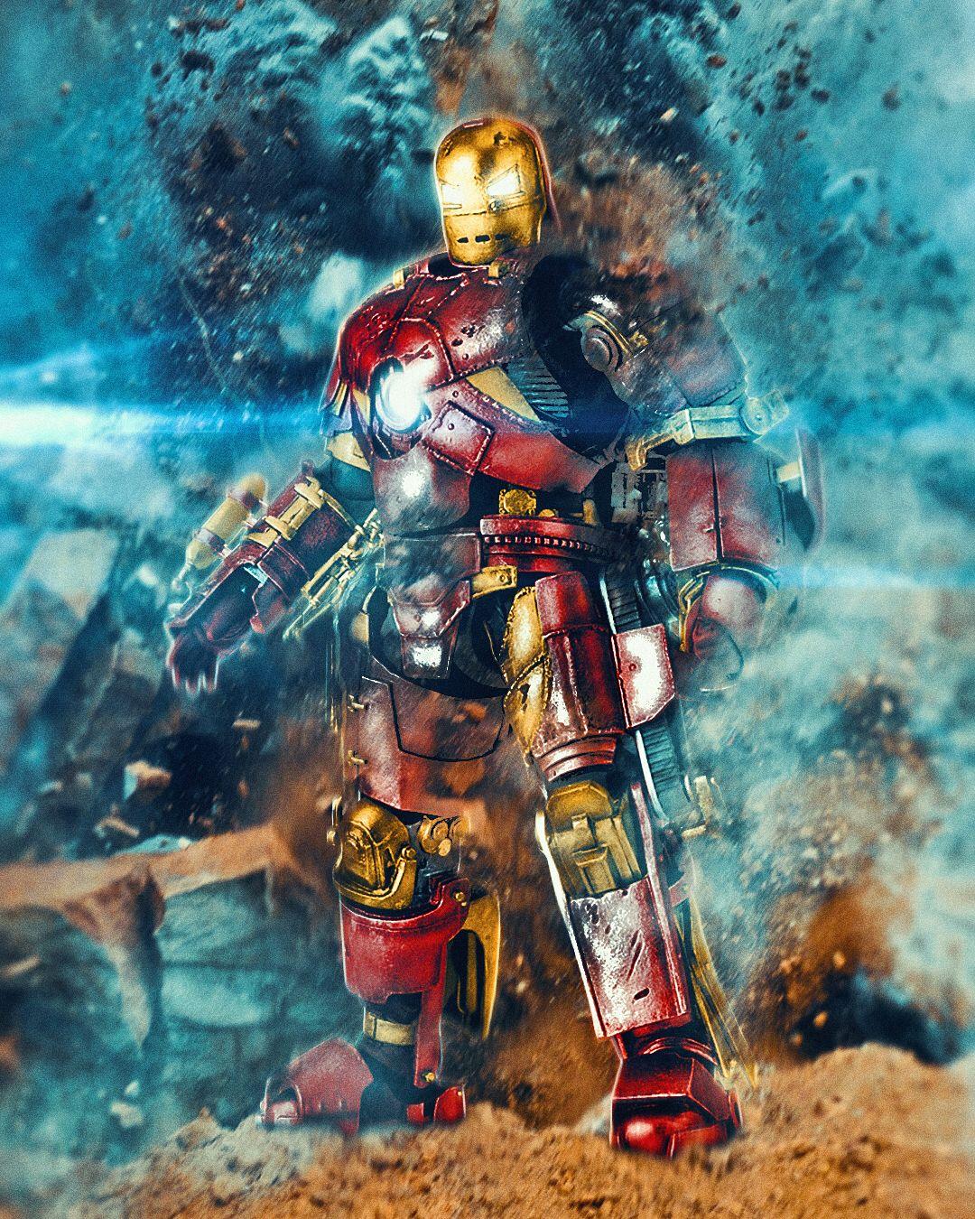 Iron Man Fan Art, Iron Man
