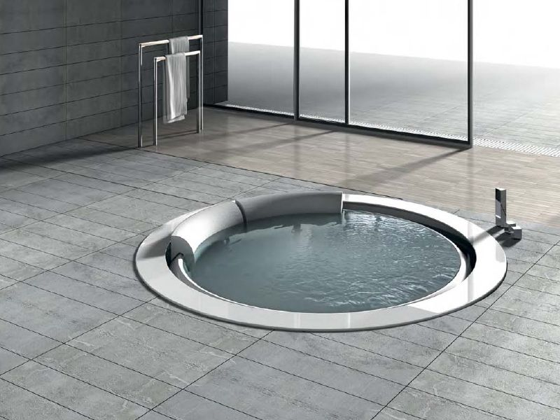 Whirlpool round bathtub BOLLA SFIORO 190 Bolla Collection by HAFRO ...