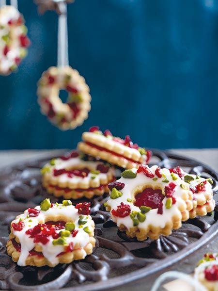 cranberry adventskringel rezept pl tzchen die besten rezepte christmas sweets recipes. Black Bedroom Furniture Sets. Home Design Ideas