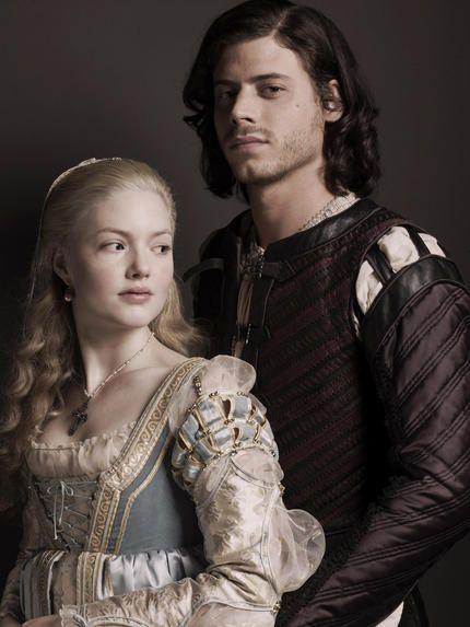 Lucrezia and Cesare in The Borgias