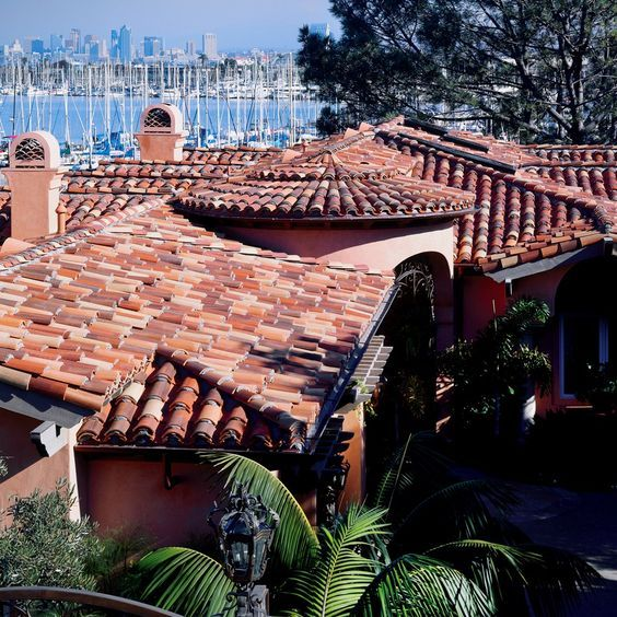 Clay Tile Roofing Manufactured By Boral Roofing Www Montgomerywinslow Com Roofing Cool Roof Spanish Tile Roof