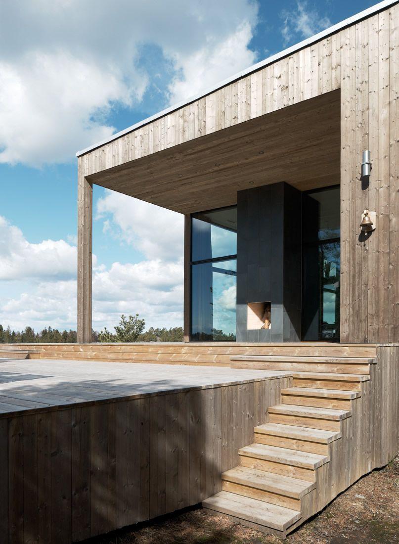 Inredning skjutdörrar utomhus : Hus i Stockholms skärgÃ¥rd | Skjutdörrar · Fönster · Dörrar | Hajom ...
