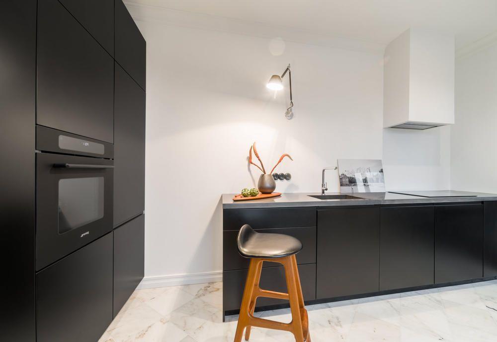 Znalezione obrazy dla zapytania schwarz moderne kuchen Interiors - küchen modern design