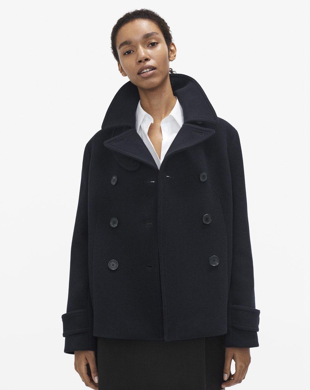 56a0aadc69c Penny Peacoat Navy - Coats & Jackets - Woman - Filippa K   Jackets ...