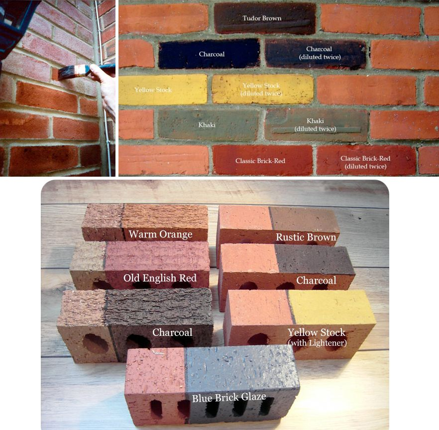 Attractive Amazing Brick Stain Colors #2 Exterior Brick Stain Colors