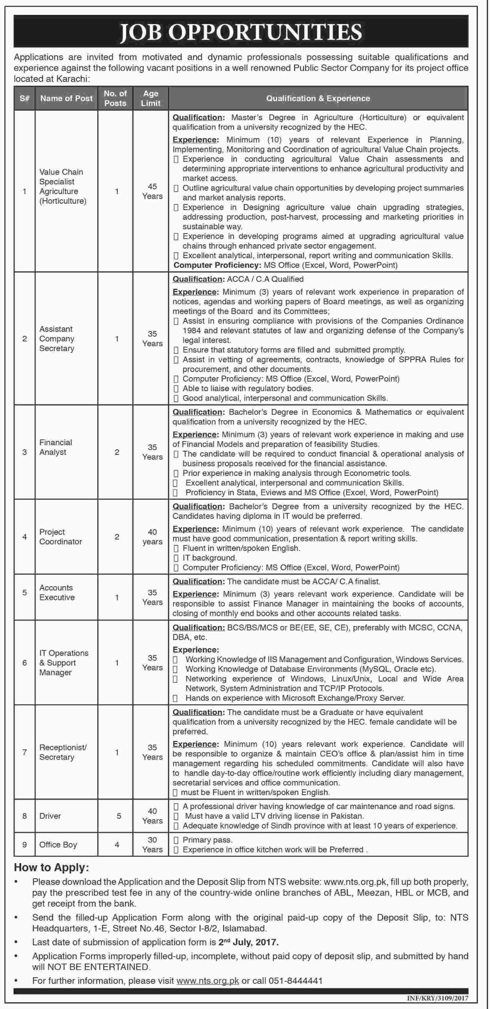 Sindh Government Karachi Jobs  Jobs In Pakistan