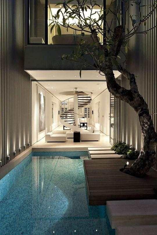 Ab in den Indoor Pool