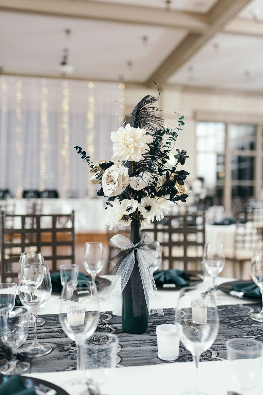 An Eclectic, Vintage Wedding at NOAH'S Event Venue in Des