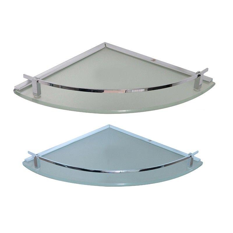 Klaxon Glass Corner Shelf 08*08 And 10*10 (Set of 1) #Kriosdirect ...