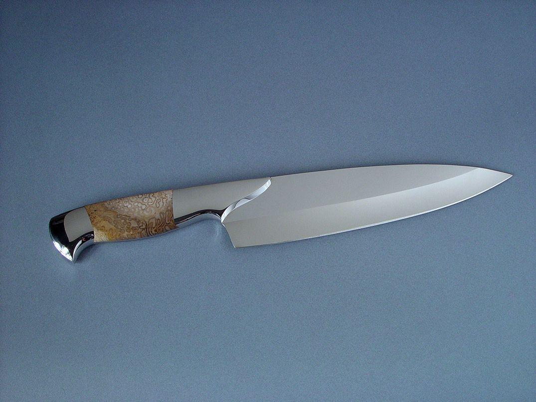 Blue Glow Chef Knife by Dobson on DeviantArt | Knives I Like ...