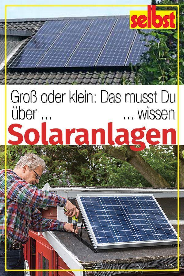 Mit Sonnenenergie Wasser Erwarmen Und Strom Erzeugen Wir Zeigen Wie Moderne Solartechnik Funktioniert Und Wie Du Eine Solar Sonnenenergie Solaranlage Solar