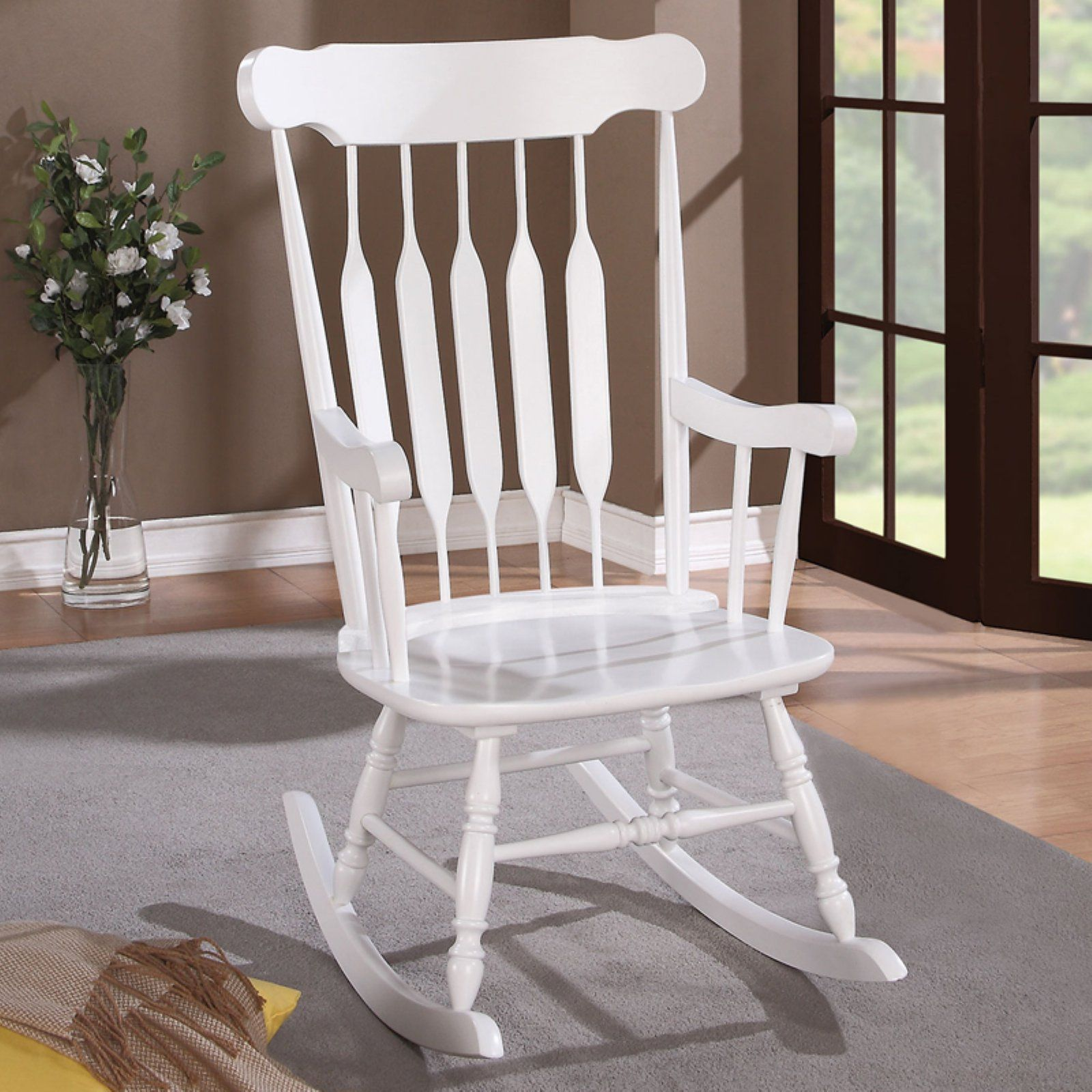 Coaster Marysville Indoor Rocking Chair Wood rocking