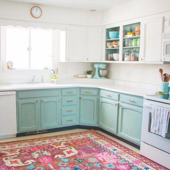 Affordable Diy Home Kitchen Makeover Chalk Paint Kitchen Cabinets Cheap Kitchen Makeover Kitchen Makeover
