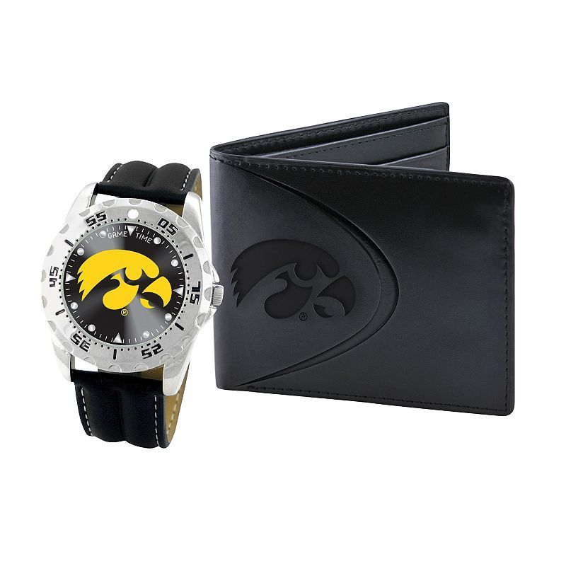 Iowa Hawkeyes Watch and Bifold Wallet Gift Set 7ace1ff51