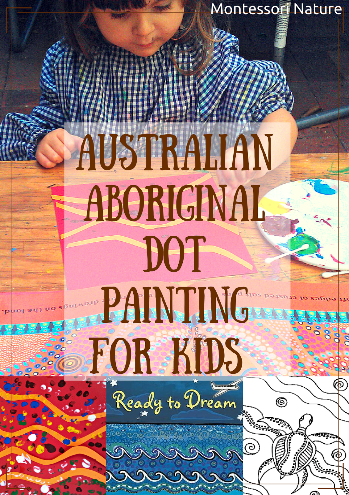 Australian Aboriginal Dot Painting For Kids And Art