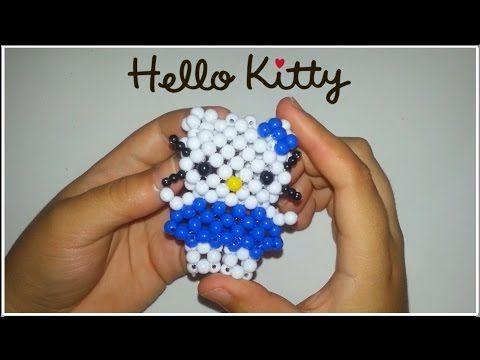Tutorial Hello Kitty Com Miangas Beads Youtube Oyuncaklar