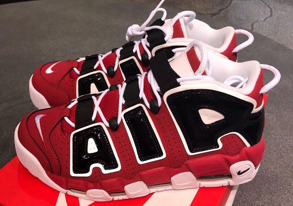 Nike Air More Uptempo Bulls 2017 Retro 921948 600 Zapatillas nike