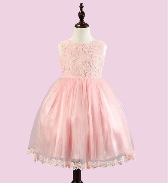 589ad446b Newborn Baby Girl Wedding Birthday Christening Ball Gown Lace Tutu ...