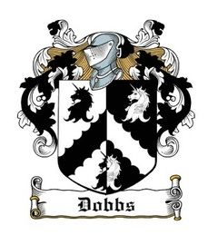Dobbs family crest | Canvas paintings | Family crest